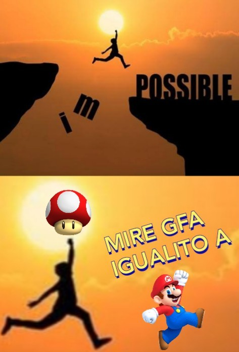 This is a MARIO reference? - meme