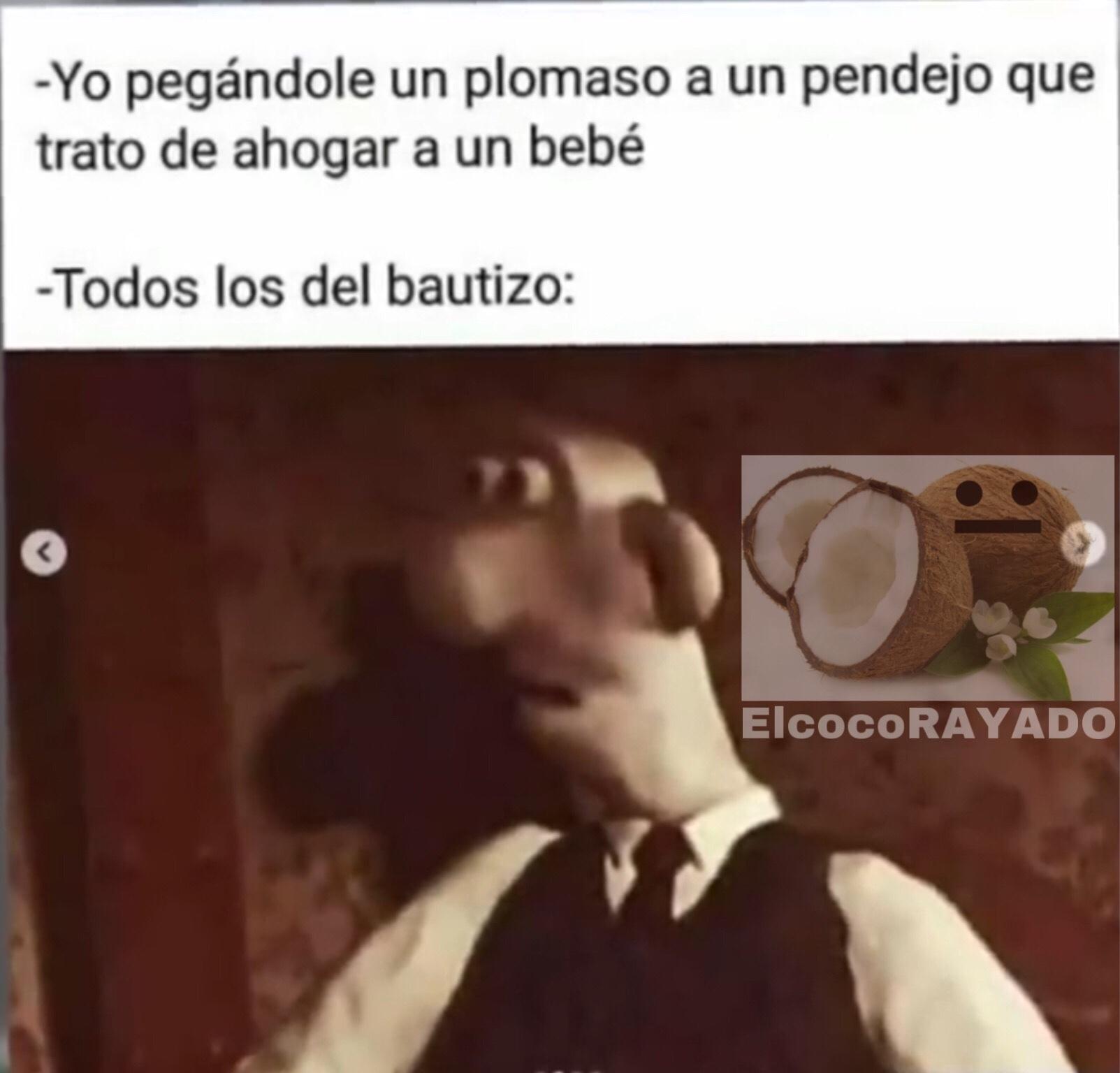 el bautizoXD - meme