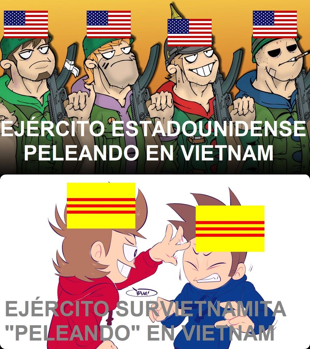 Alta cagada el ARVN - meme