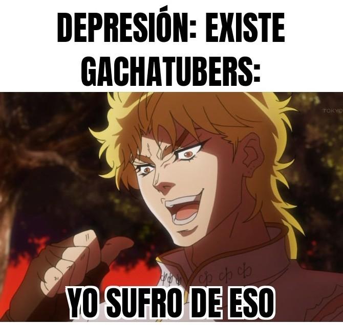Meme genérico sobre gacha life