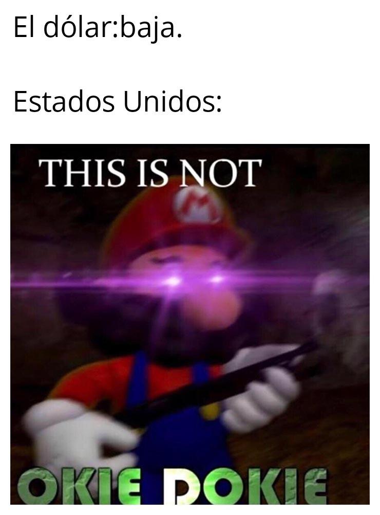 Dolares - meme