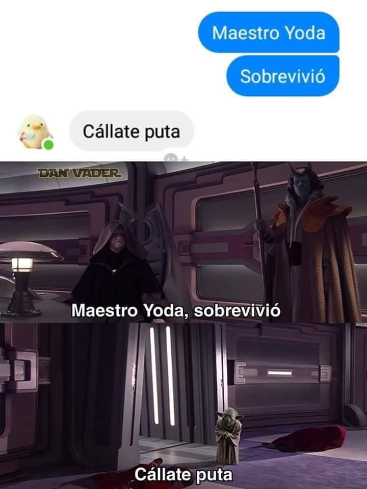 Otro de star wars - meme