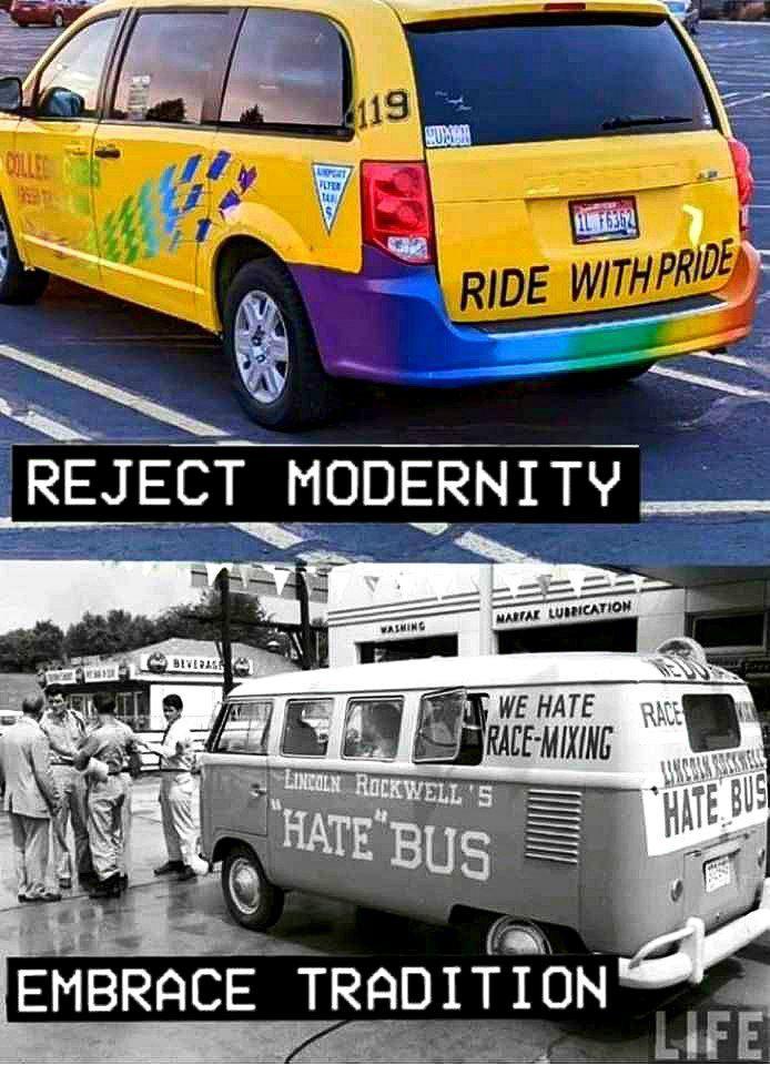 El que diga que las vw bus son para maricones hipiosos es furro y se la traga completa - meme