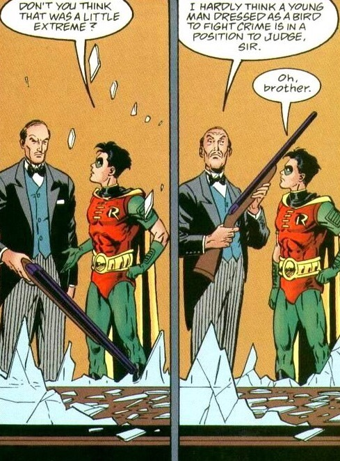 Damn Alfred - meme