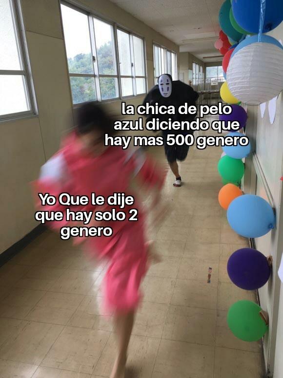 Pelo Azul - meme