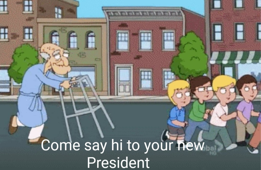 USA right now - meme