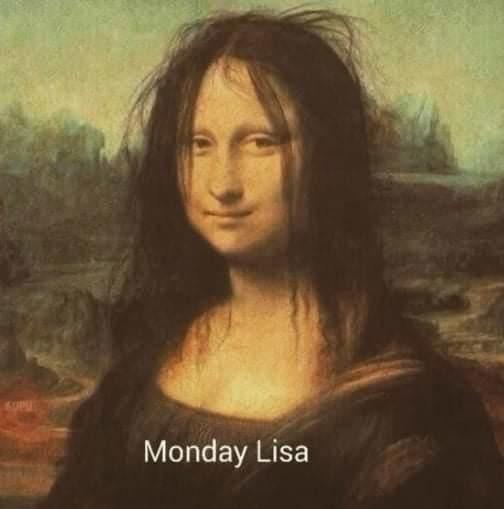 Morning lisa - meme