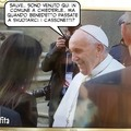 Papa Francesco in comune a Roma