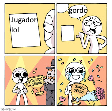 jaja GORDO - meme