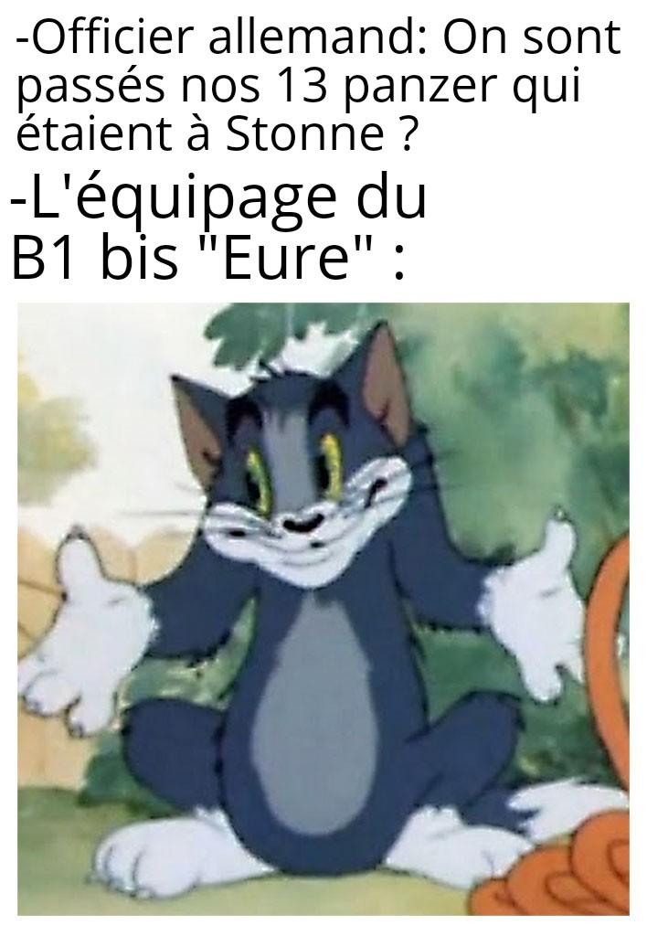 Achtung franzosich panzer - meme