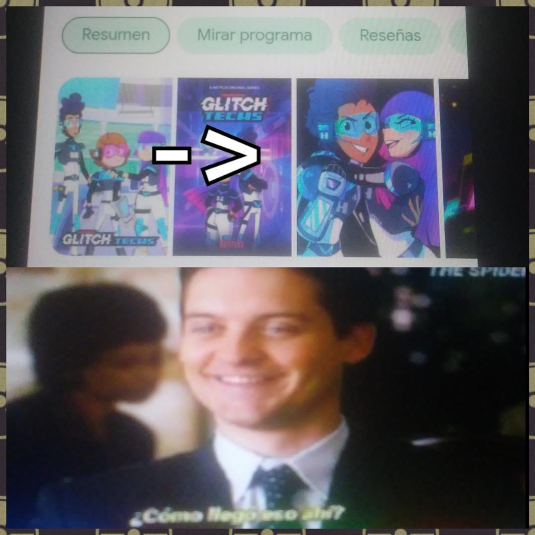 Si buscan Glitch Techs, te meten duro xD - meme