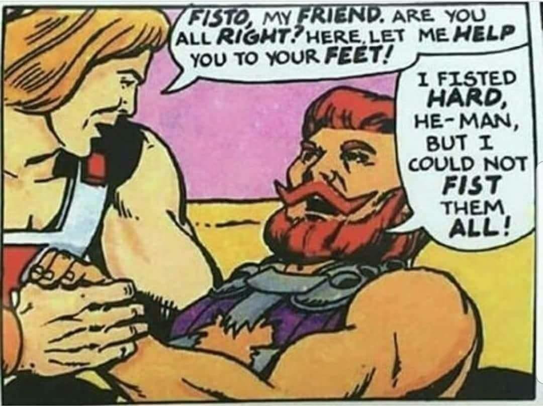 Fisto fisting - meme