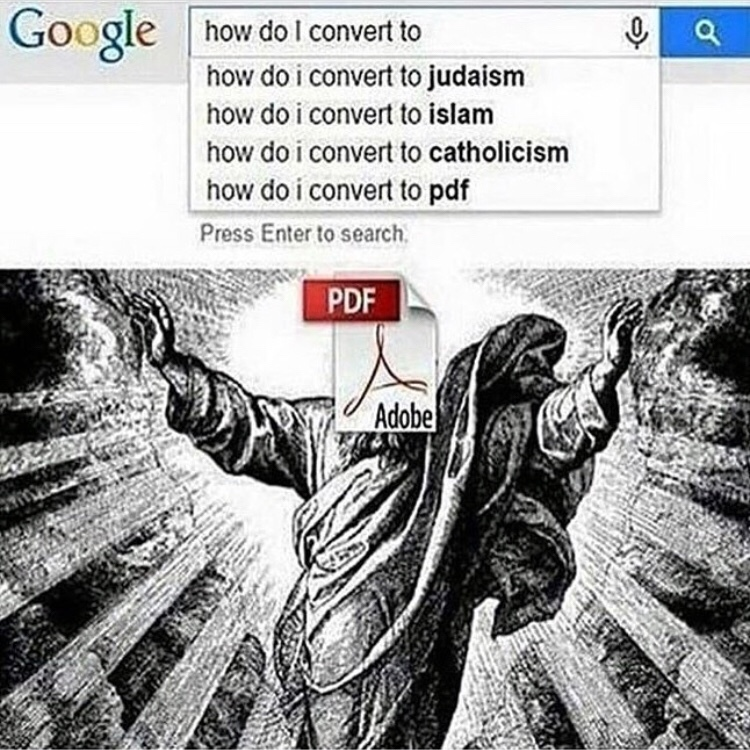 pdfism is the real truth - meme