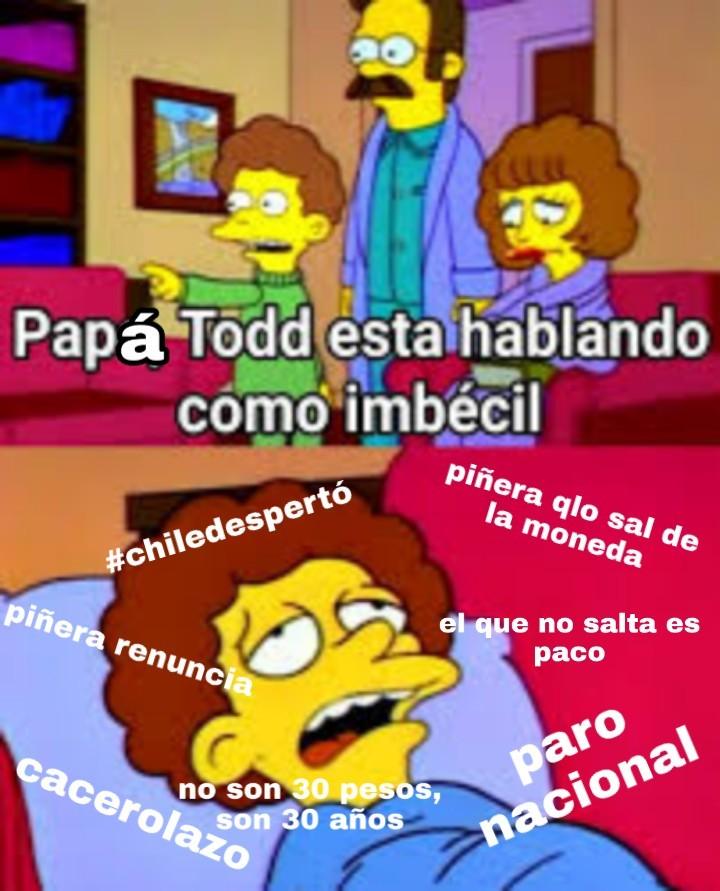 tambien soy chileno, y si, se que la plantilla está muerta - meme