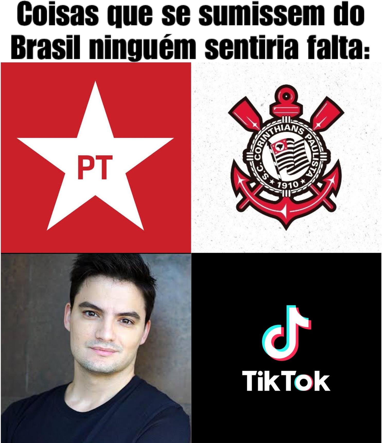 Imagens que geram repulsa aos brasileiros - meme