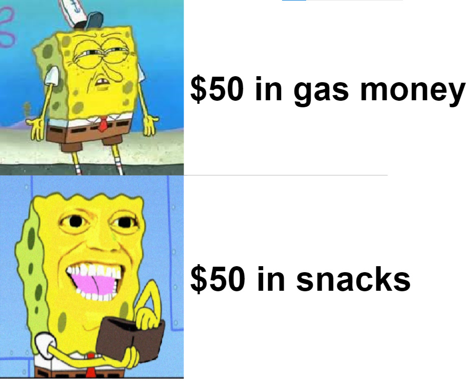 no snacks in my house anymore XD - meme