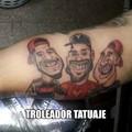 Troleadores tatuajes