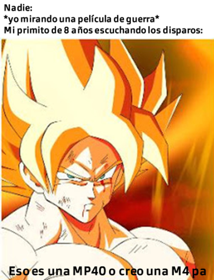 Eso siempre pasa cuando juego COD Warzone xd - meme
