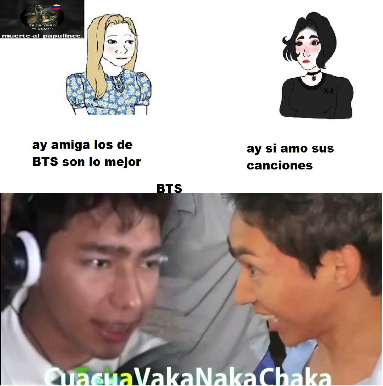 se que es rechazado dificil pero cuacuavakanakachaka - meme