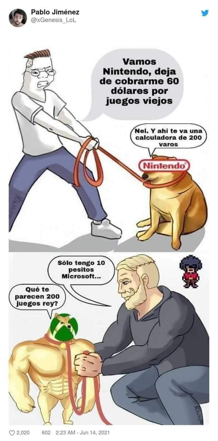 Nintendo siendo Nintendo... - meme
