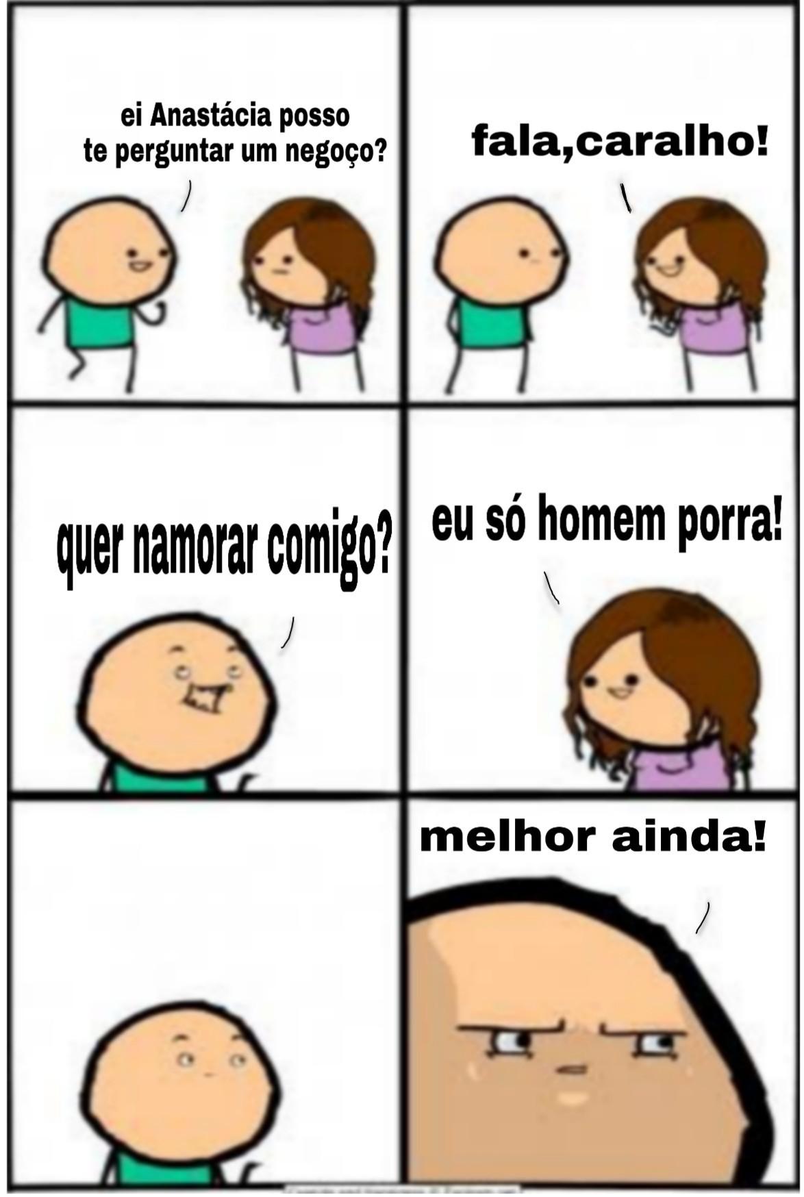 Porra Anastácia - meme
