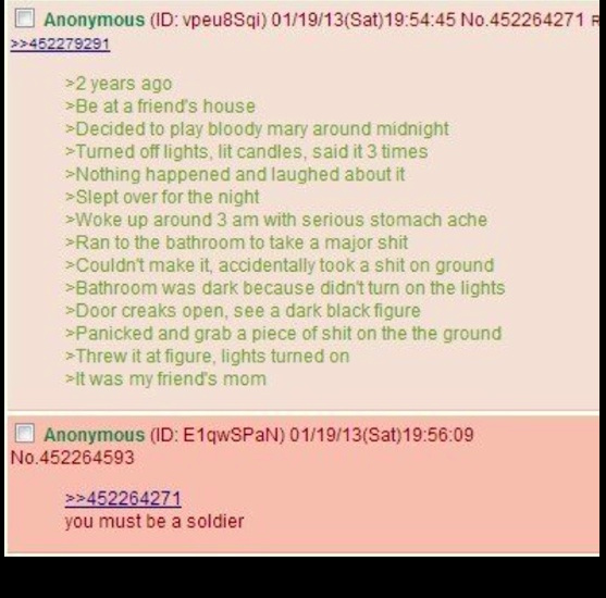 Anon throws his shit at friend's mom - meme