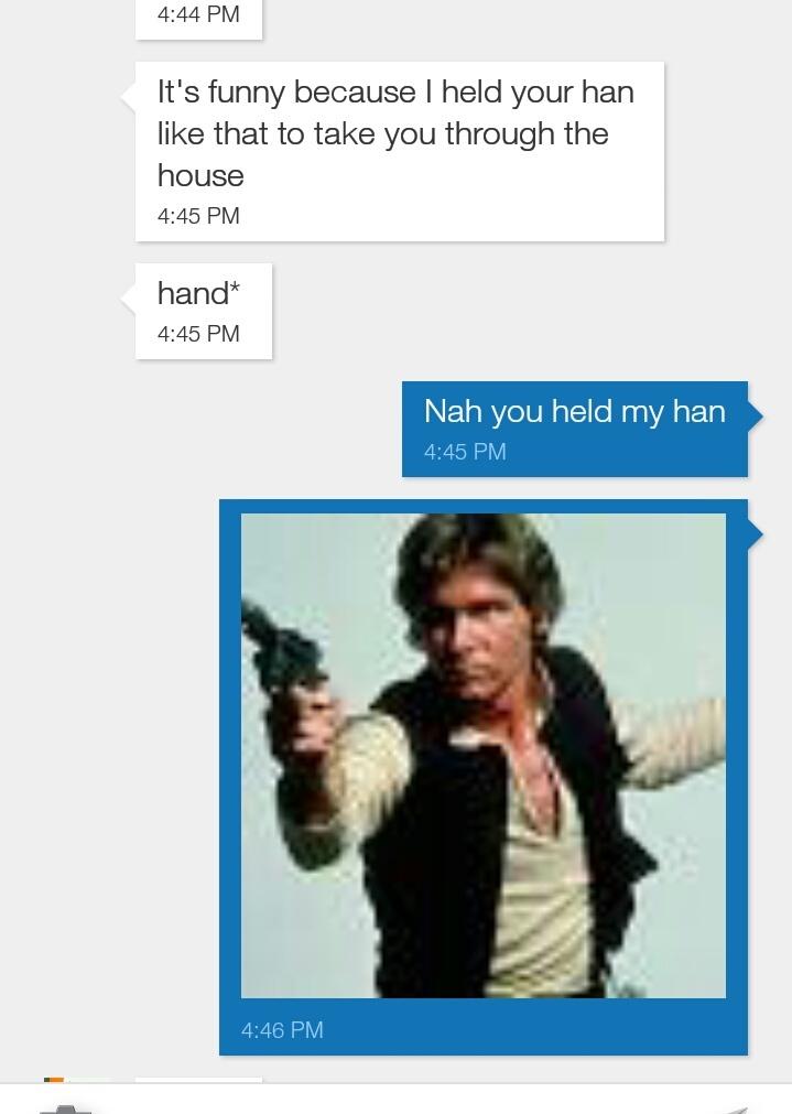 Actual conversation between me and my boyfriend - meme