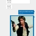 Actual conversation between me and my boyfriend