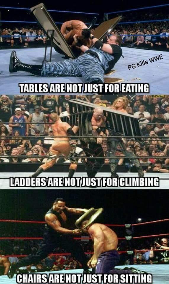 Wrestling - meme
