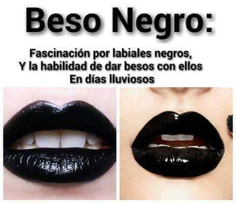 dominante italiano beso negro
