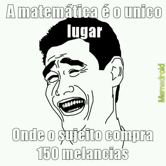 Matemática - meme