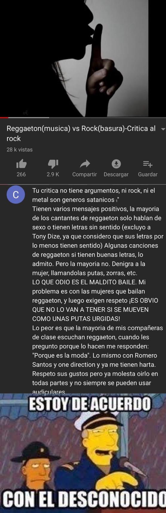 pinches marranos reggaetóneros - meme