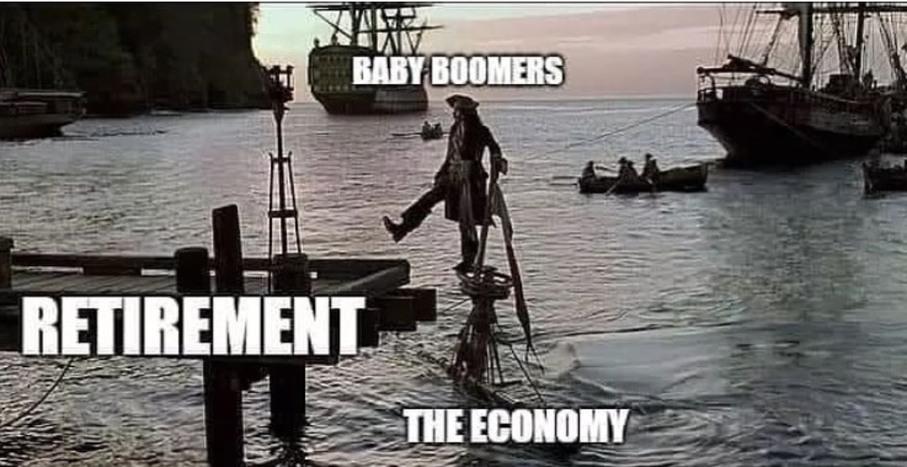 But millennials are lazy - meme