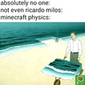 Minecraft physics