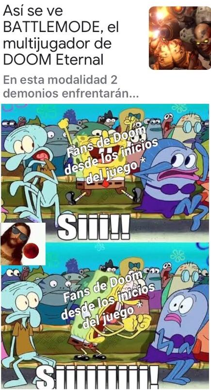 siiiiiiii Doom - meme