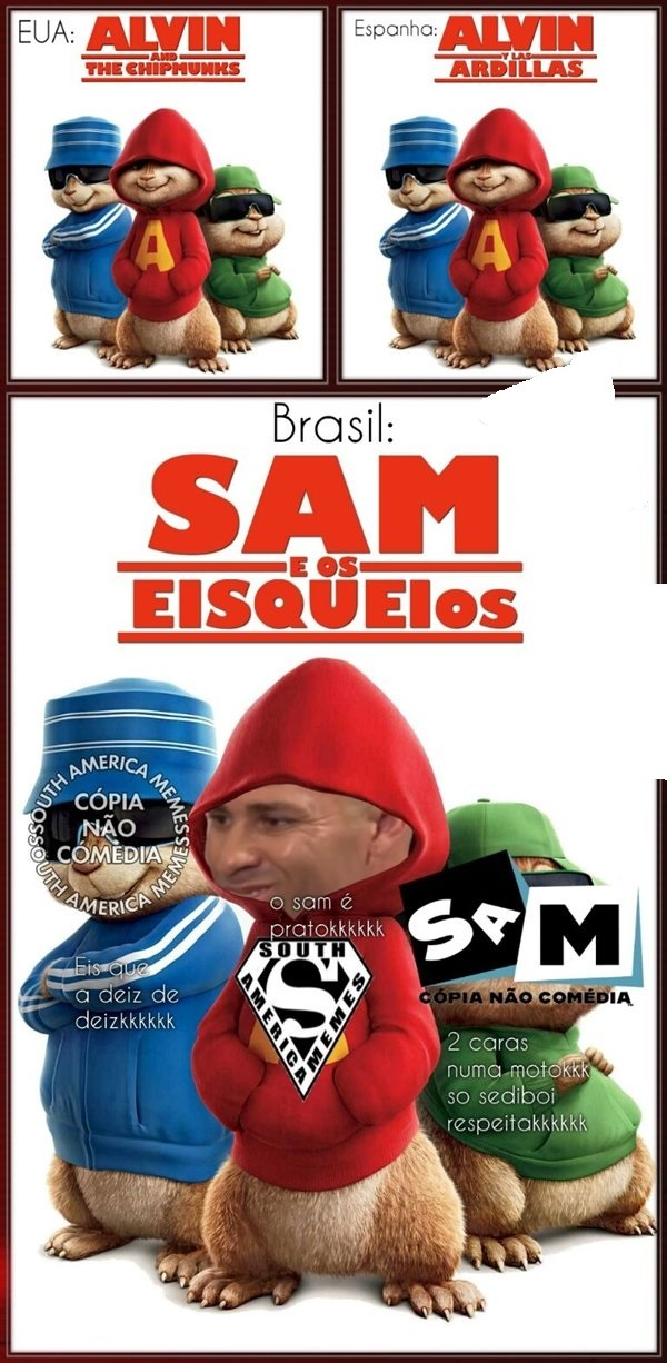 SAm is deveras brabas - meme