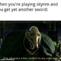 Skyrim swords