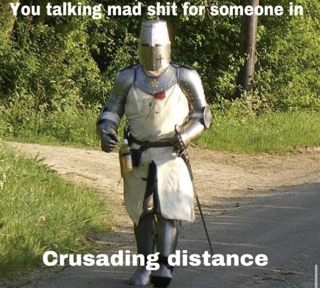 If anyone talking crap - meme