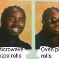 Mmm...pizza rolls