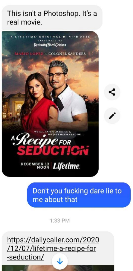 Holy shit, a Lifetime movie I actually want to see... - meme