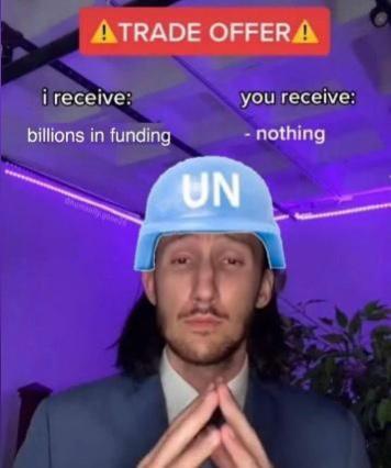 UN is full of shit - meme