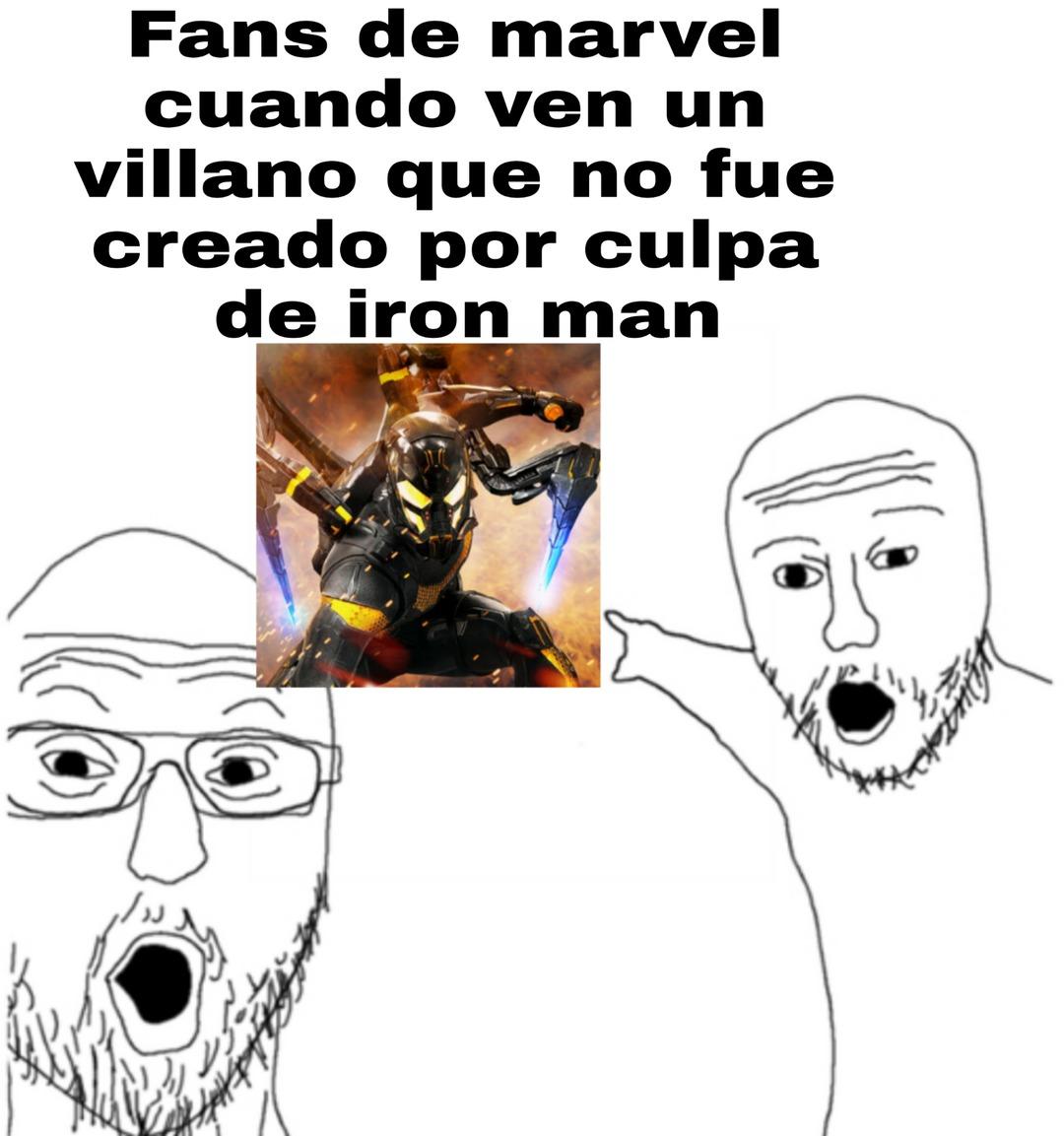 UCM= Universo Cinematográfico de Mierda - meme