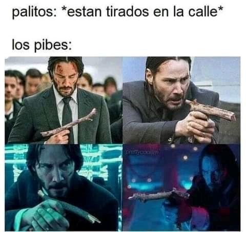 Palitos - meme