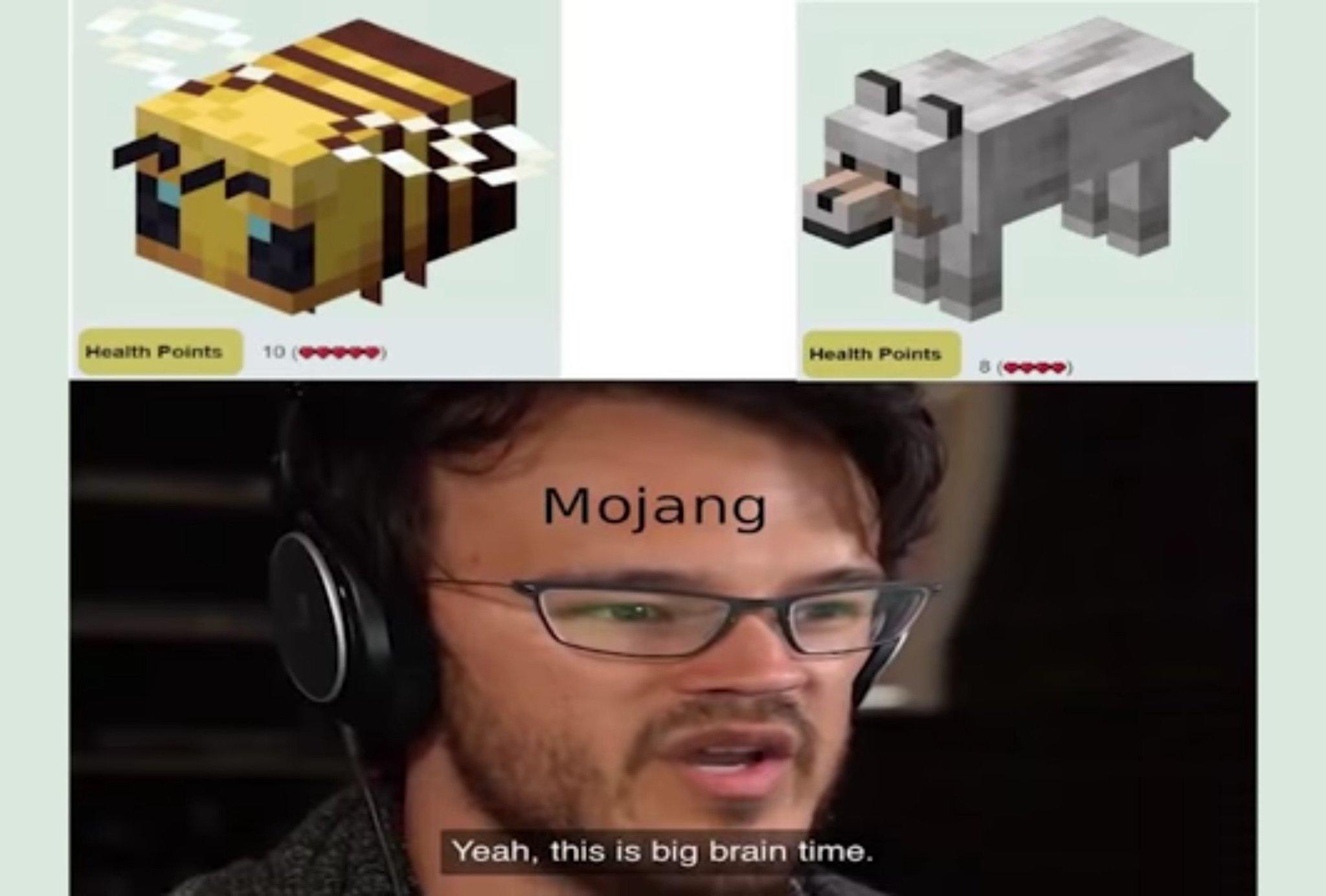 Beeg brain - meme