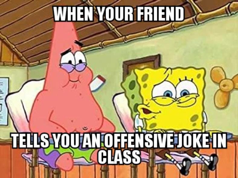 Spongebob is lit ma boi - meme