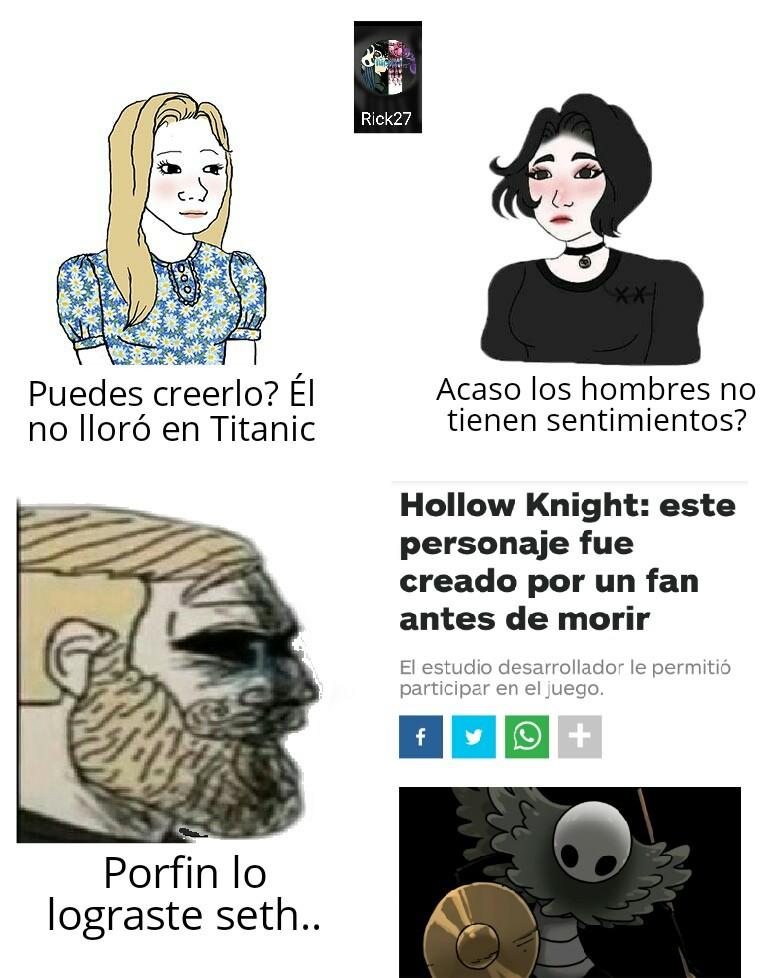 La noticia es vieja, pero recien se me ocurrio hacer el meme :(
