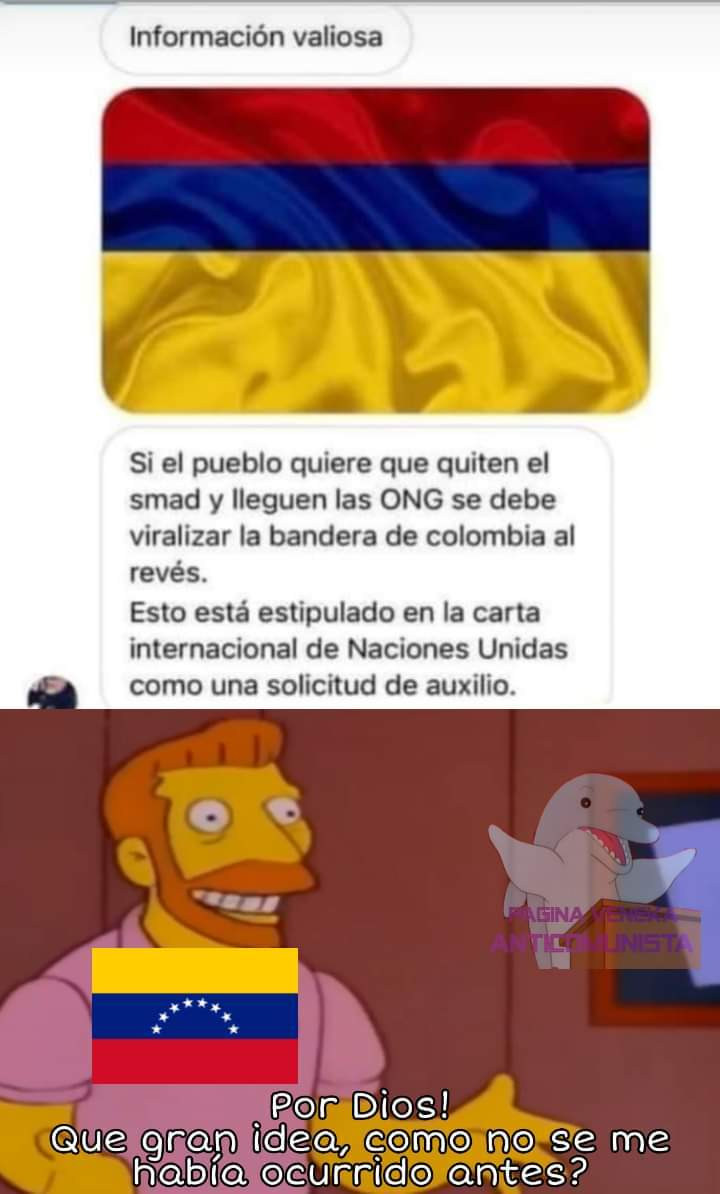 Pobres colombianos. :okay: - meme