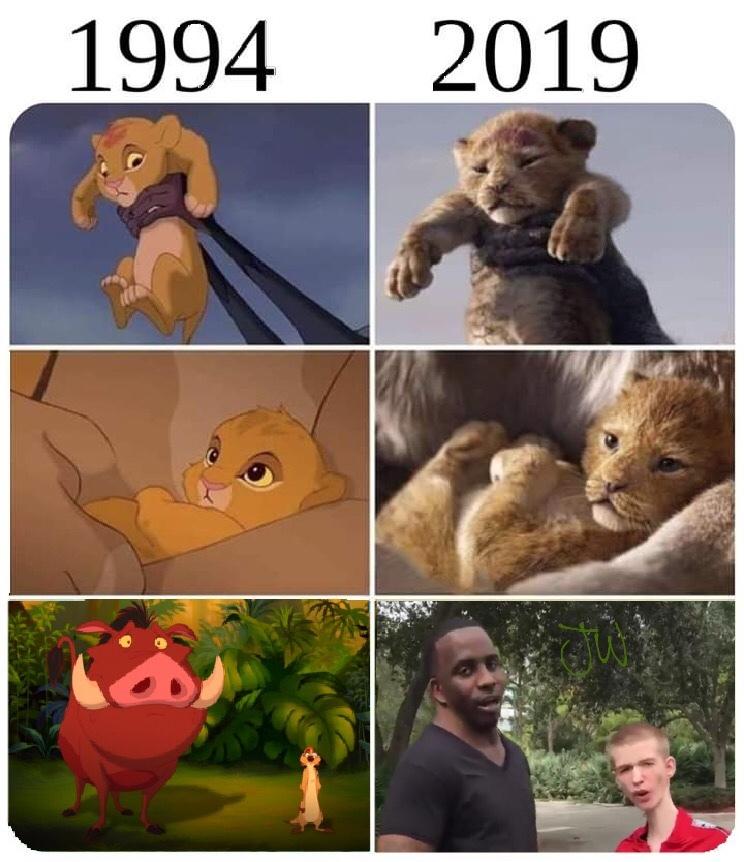 Neck Nigga = Pumbaa - meme