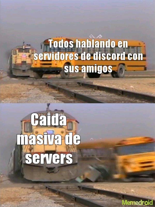 Discord hoy - meme