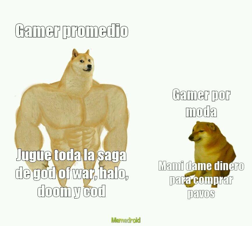 Generacion de gamer - meme